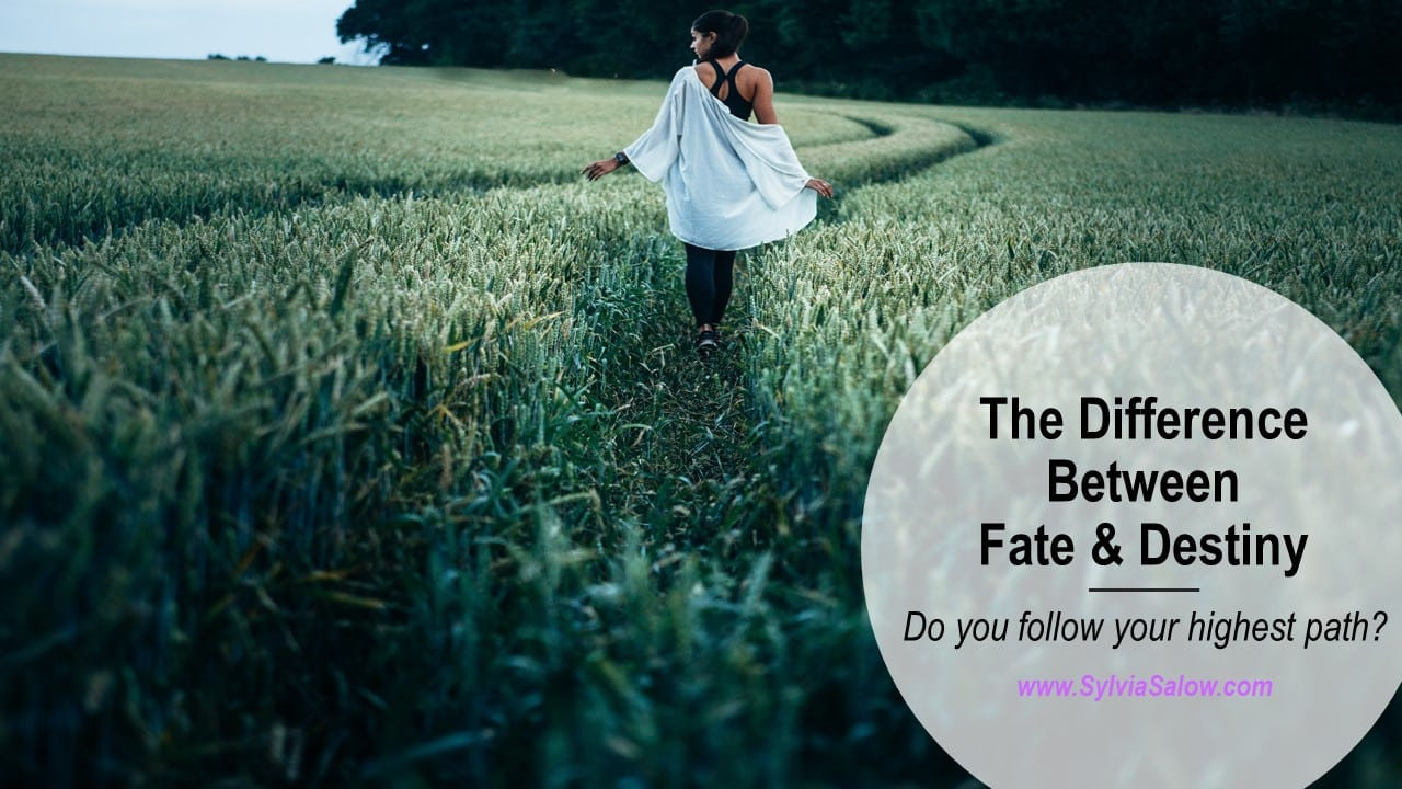 difference between fate and destiny