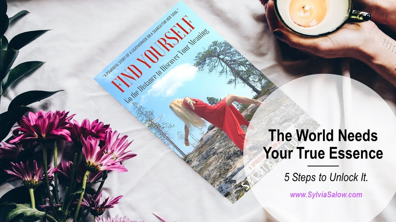 how to find yourself book image with flowers and a cup of coffee