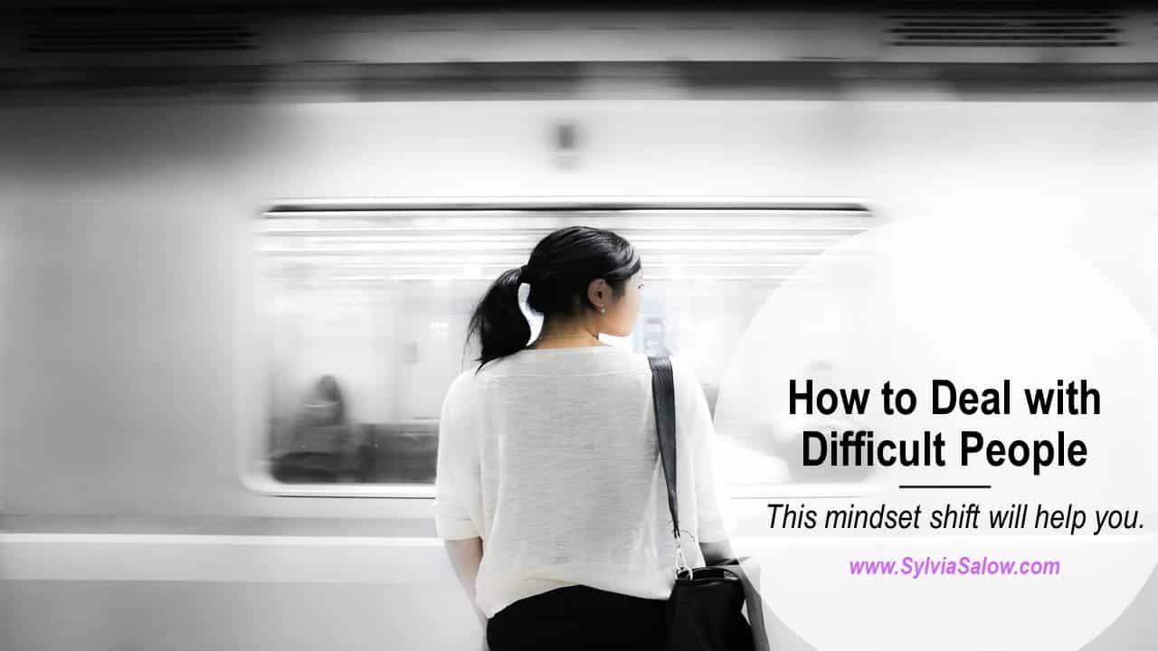 woman at a subway station